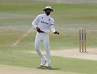 Delray Rawlins fields for Sussex during Kent CCC vs Sussex CCC, Bob Willis Trophy Cricket at The Spitfire Ground on 9th August 2020