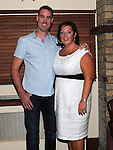Brendan O'Brien celebrating his 40th birthday at Daly's in Donore with wife Carmel. Photo: www.pressphotos.ie