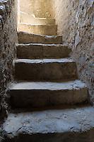 Stairway, Mission Concepcion, San Antonio, Texas