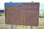 Placard Of Omaha Beach