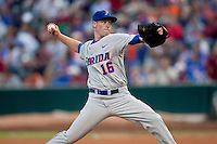 March 29, 2011:    Florida Gators rhp Anthony DeSclafani (16) throws in the first inning during action between Florida Gators and Florida State Seminoles played at the Baseball Grounds of Jacksonville in Jacksonville, Florida.  Florida State defeated Florida 5-2............