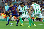League Santander 2017/2018. Game: 01.<br /> FC Barcelona vs Real Betis: 2-0.<br /> Jordi Alba vs Nahuel.
