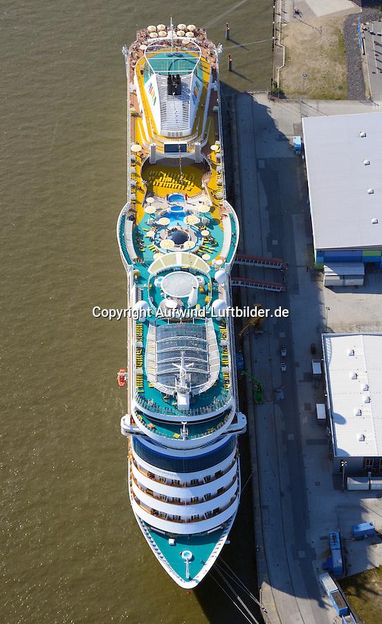 Kreuzfahrtschiff Aida Sol : EUROPA, DEUTSCHLAND, HAMBURG, (EUROPE, GERMANY), 15.09.2016: Kreuzfahrtschiff Aida Sol