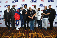 07 June 2019 - Hollywood, California - Cedric Berry, Yusef Salaam, Korey Wise, Nathan Granner, Orson Van Gay, Raymond Santana, Derrell Acon, Antron McCray, Kevin Richardson, Bernard Holcomb. ACLU 25th Annual Luncheon held at J.W. Marriott at LA Live. Photo Credit: Birdie Thompson/AdMedia