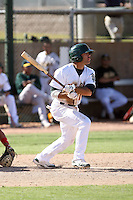 Mike Gilmartin - Oakland Athletics - 2010 Instructional League.Photo by:  Bill Mitchell/Four Seam Images..