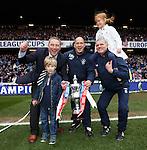 Ally McCoist, Kenny McDowall and Ian Durrant