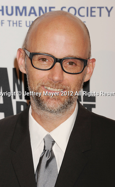 BEVERLY HILLS, CA - MARCH 24: Moby attends the 26th Genesis Awards at The Beverly Hilton Hotel on March 24, 2012 in Beverly Hills, California.