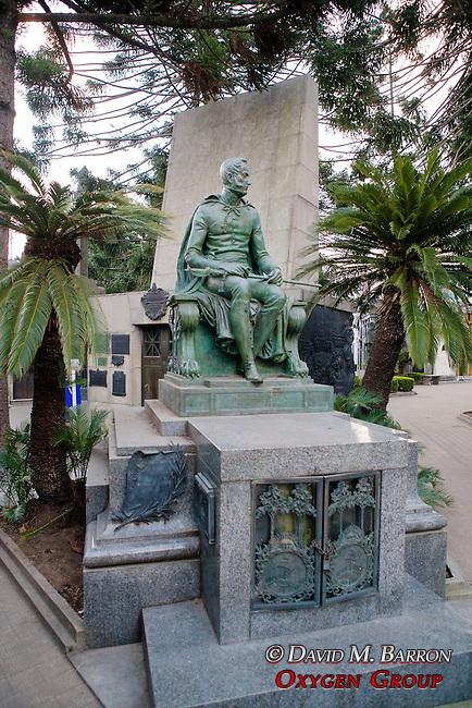 Martin Rodriguez Tomb, La Recoleta Cemetery