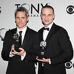 Jordan Roth pictured at the 66th Annual Tony Awards held at The Beacon Theatre in New York City , New York on June 10, 2012. © Walter McBride /  WM Photography .
