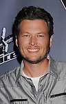 "CULVER CITY, CA - OCTOBER 28: Blake Shelton at the ""The Voice"" Press Junket at Sony Pictures Studios on October 28, 2011 in Culver City, California."