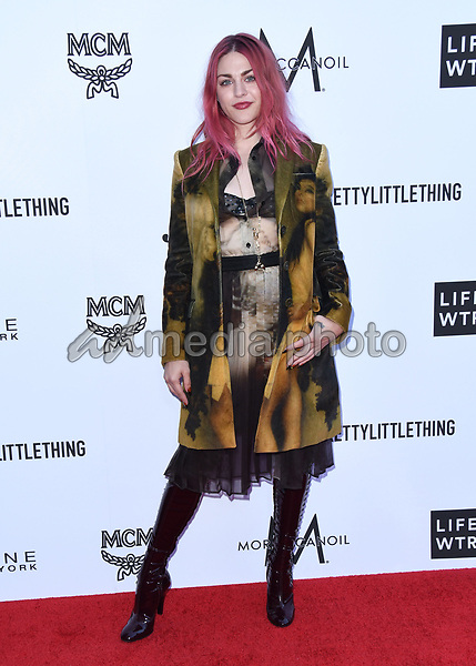 08 April 2018 - Beverly Hills, California - Frances Bean Cobain. The Daily Front Row's 4th Annual Fashion Los Angeles Awards held at The Beverly Hills Hotel. Photo Credit: Birdie Thompson/AdMedia