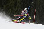 10.03.2018, Ofterschwanger Horn, Ofterschwang, GER, Slalom Weltcup in Ofterschwang, im Bild Laurence St-Germain (CAN, #27)<br /> <br /> Foto &copy; nordphoto / Hafner