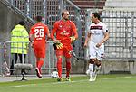 nph00001:  nph0001:  17.05.2020 --- Fussball --- Saison 2019 2020 --- 2. Fussball - Bundesliga --- 26. Spieltag: FC Sankt Pauli - 1. FC Nürnberg --- --- DFL regulations prohibit any use of photographs as image sequences and/or quasi-video - Only for editorial use ! --- <br /> <br /> Christian Mathenia (26, 1. FC Nürnberg ) Felix Dornebusch (21, 1. FC Nürnberg ) Georg Margreitter (33, 1. FC Nürnberg ) <br /> <br /> Foto: Daniel Marr/Zink/Pool//via Kokenge/nordphoto