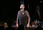 """John Goodman during the Broadway Opening Night performance curtain call bows for """"The Front Page""""  at the Broadhurst Theatre on October 20, 2016 in New York City."""