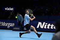 JACK SOCK (USA)<br /> <br /> TENNIS - NITTO ATP FINALS - 02 ARENA, LONDON, UNITED KINGDOM, 2017  <br /> <br /> <br /> <br /> &copy; TENNIS PHOTO NETWORK
