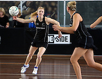 06.10.2013 Silver Fern Shannon Francois in action during the Silver Ferns training in Melbourne Australia. Mandatory Photo Credit ©Michael Bradley.