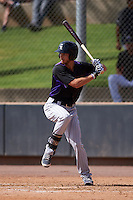 Colorado Rockies Max White (43) during an instructional league game against the SK Wyverns on October 10, 2015 at the Salt River Fields at Talking Stick in Scottsdale, Arizona.  (Mike Janes/Four Seam Images)