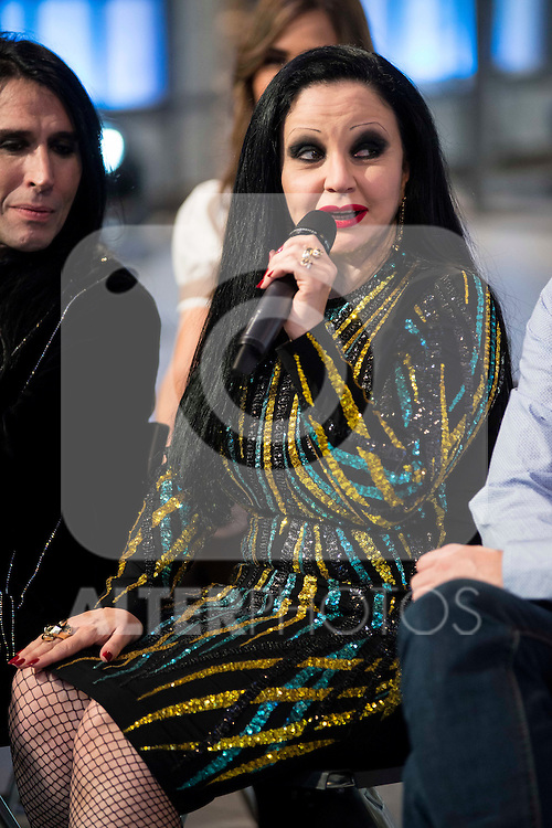 Alaska during the presentation of the new TV program to Movistar+,  &quot; Likes &quot; at 7 y accion studios in Madrid. January 27, 2016.<br /> (ALTERPHOTOS/BorjaB.Hojas)