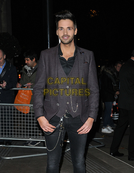 Ben Haenow attends the Music Industry Trusts Award 2015, Grosvenor House Hotel, Park Lane, London, England, UK, on Monday 02 November 2015. <br /> CAP/CAN<br /> &copy;Can Nguyen/Capital Pictures