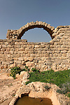 Israel, Ramat Hanadiv. Hurbat Akav, a second temple period Jewish manor house that was abandoned at the time of the Jewish revolt against Rome .and rebuilt as a Byzantine villa in the fifth century.