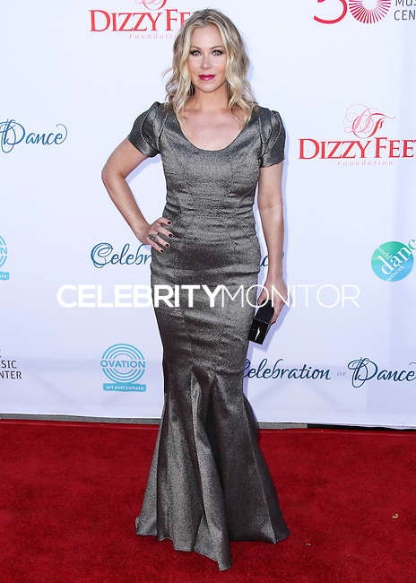 LOS ANGELES, CA, USA - JULY 19: Actress Christina Applegate arrives at the 4th Annual Celebration Of Dance Gala Presented By The Dizzy Feet Foundation held at the Dorothy Chandler Pavilion at The Music Center on July 19, 2014 in Los Angeles, California, United States. (Photo by Xavier Collin/Celebrity Monitor)