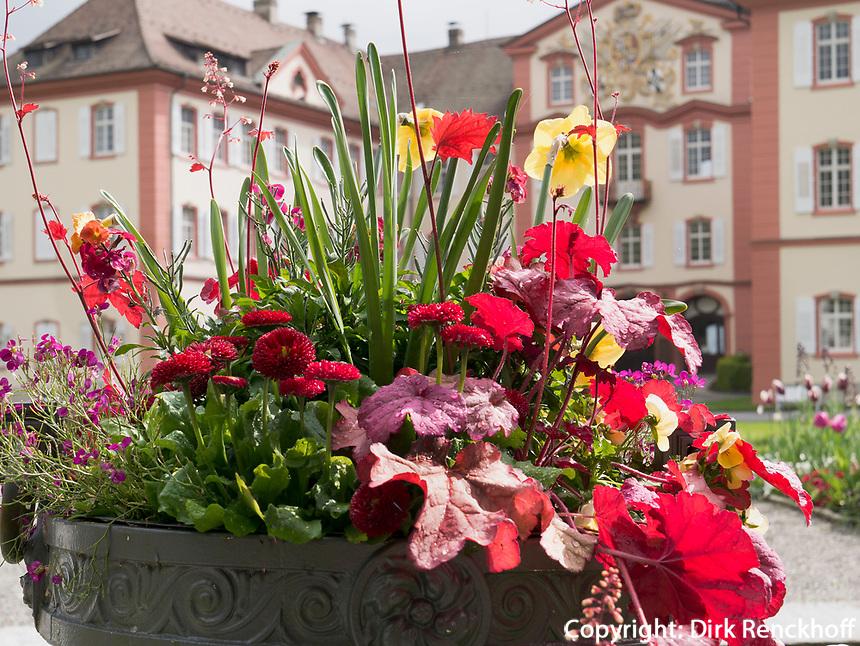 Schloss, Bodensee - Insel Mainau, Baden-W&uuml;rttemberg, Deutschland, Europa<br /> Castle on Isle of Mainau, Lake Constance, Baden-W&uuml;rttemberg, Germany, Europe
