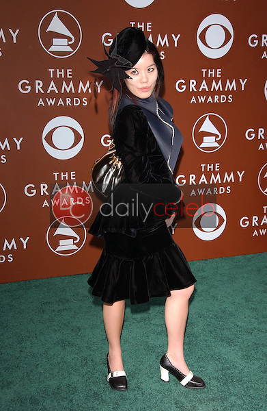 Carmen Yuen<br />at the 48th Annual GRAMMY Awards. Staples Center, Los Angeles, CA. 02-08-06<br />Dave Edwards/DailyCeleb.com 818-249-4998