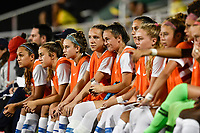Lakewood Ranch, FL - Wednesday, October 10, 2018:   Bench during a U-17 USWNT match against Colombia.  The U-17 USWNT defeated Colombia 4-1.