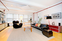 Living Room at 215 West 29th Street