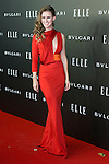 Manuela Velles attend the Photocall of the ELLE STYLE AWARDS at Italian Embassy in Madrid, Spain. March 17, 2014. (ALTERPHOTOS/Carlos Dafonte)