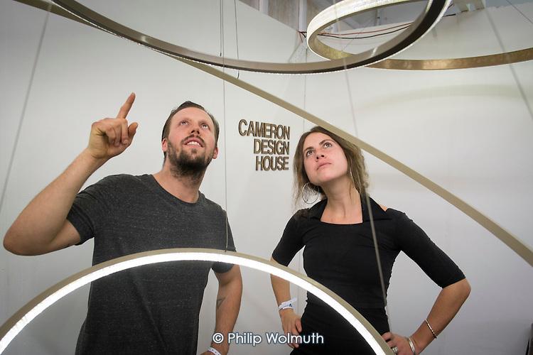 Ian, cameron, Ian Cameron Design House, London Design Week, Truman Brewery, Brick Lane.