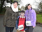 Liam and Michelle Hall and Audrey Delaney who took part in Erin's Run. Photo:Colin Bell/pressphotos.ie
