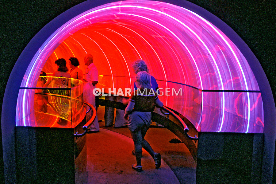 Visita ao Epcot Center, Florida. EUA. 1994. Foto João Caldas.