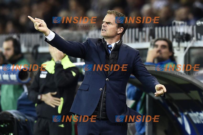 Genova 30-10-2016 - Football campionato di calcio serie A / Sampdoria - Inter / foto Image Sport/Insidefoto<br />  Frank De Boer