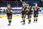 Stockholm 2014-01-18 Ishockey SHL AIK - F&auml;rjestads BK :  <br /> AIK:s Marcus Nilsson och AIK:s Mark Hurtubise deppar efter matchen<br /> (Foto: Kenta J&ouml;nsson) Nyckelord:  depp besviken besvikelse sorg ledsen deppig nedst&auml;md uppgiven sad disappointment disappointed dejected