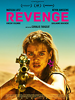 Revenge (2017)<br /> POSTER ART<br /> *Filmstill - Editorial Use Only*<br /> CAP/KFS<br /> Image supplied by Capital Pictures
