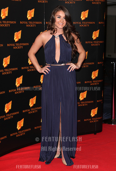 Brooke Vincent arriving for the RTS Awards 2014, Grosvenor House Hotel, London. 18/03/2014 Picture by: Alexandra Glen / Featureflash