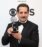 Tony Shalhoub poses in the 72nd Annual Tony Awards Press Room at 3 West Club on June 10, 2018 in New York City.