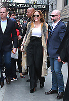 NEW YORK ,NY - April 9: Jennifer Lopez seen in New York City on April 09, 2019. <br /> CAP/MPI/RW<br /> ©RW/MPI/Capital Pictures