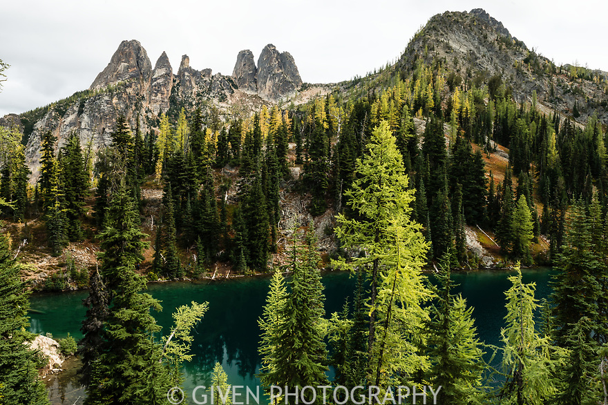 Blue Lake, Liberty Bell and Early Winters Spires