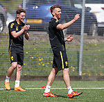 16.05.2018 Livingston FC training and presser: Lee Miller