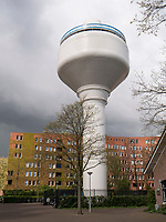 Wasserturm Watertoren, Haarlemmerweg 301, Amsterdam, Provinz Nordholland, Niederlande<br /> Watertower Watertoren, Haarlemmerweg 301, Amsterdam, Province North Holland, Netherlands