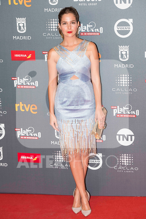 Natalia Sanchez attends to welcome party photocall of Platino Awards 2017 at Callao Cinemas in Madrid, July 20, 2017. Spain.<br /> (ALTERPHOTOS/BorjaB.Hojas)