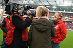 30.11.2019, RheinEnergieStadion, Koeln, GER, 1. FBL, 1.FC Koeln vs. FC Augsburg,<br />  <br /> DFL regulations prohibit any use of photographs as image sequences and/or quasi-video<br /> <br /> im Bild / picture shows: <br /> Markus Gisdol Trainer, Headcoach (1.FC Koeln), vor dem Spiel im Interview<br /> <br /> Foto © nordphoto / Meuter