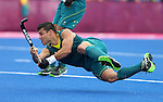 London Olympics 01/08/2012.Mens Hockey, Australia v Spain.Chris Ciriello.Photo: Grant Treeby