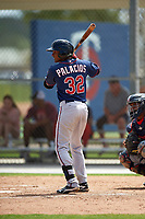 Minnesota Twins Jermaine Palacios (32) during a minor league Spring Training intrasquad game on March 15, 2016 at CenturyLink Sports Complex in Fort Myers, Florida.  (Mike Janes/Four Seam Images)