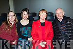 Music<br /> --------<br /> Attending the Scotia En Semble classical instruments concert in the new venue at Mounthawk school, Tralee last Saturday night were L-R Grainne O'Connor, Tralee with Olivia, Ann&amp;Roy Dineen, Causeway.