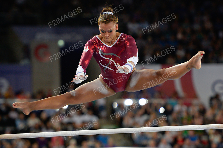Commonwealth Games Gymnastics Individual Apparatus  Finals 31.7.14.