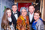 Listowel Drama group actors Anna Sheahan, Pa Sheahan, Imelda Dowling-Garvey, Kevin Barry and Tina Enright who presented Bleithe Spirit by Noel Coward  at the Kerry Drama festival in the Ivy leaf theatre Castleisland on Saturday night