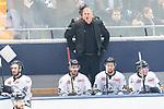 14.01.2018, Eisstadion Oberwiesenfeld, Muenchen, GER, DEL, EHC Red Bull Muenchen vs. Thomas Sabo Ice Tigers, im Bild Rob Wilson (Trainer Nuernberg) <br /> <br /> Foto &copy; nordphoto / Straubmeier